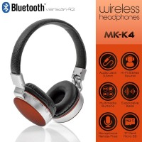 Wireless Headset MS-K4 Black-Red