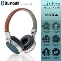 Wireless Headset MS-K4 Brown-Green
