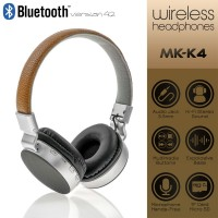 Wireless Headset MS-K4 Brown-Grey
