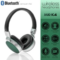 Wireless Headset MS-K4 Black-Green