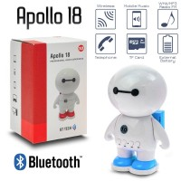 Ηχείο Bluetooth Apollo 18 BLUE