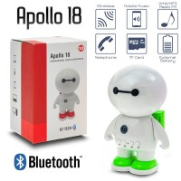 Ηχείο Bluetooth Apollo 18 GREEN