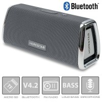 Φορητό Ηχείο Bluetooth Grey HOPESTAR H23