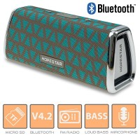 Φορητό Ηχείο Bluetooth Grey Veraman HOPESTAR H23