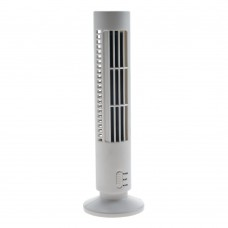Tower Fan USB White