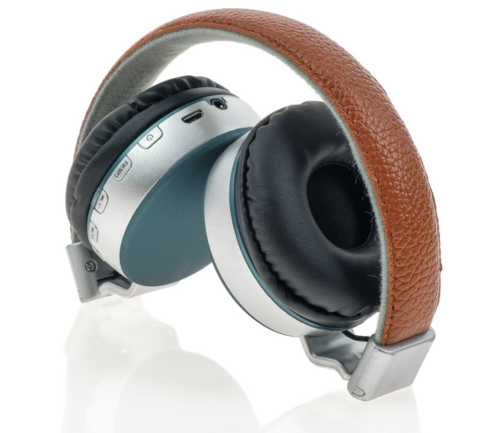 Wireless Headset MS-K4 Brown-Green αναδιπλούμενα image