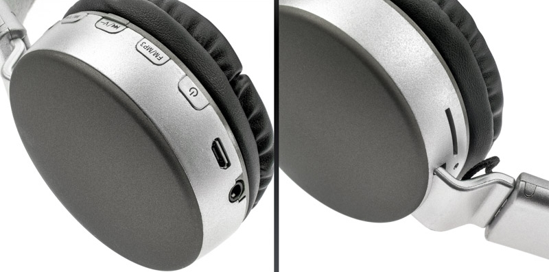 Wireless Headset MS-K4 Brown-Grey κουμπιά image