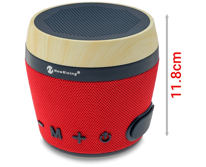 Ασύρματο Bluetooth Ηχείο New Rixing NR-1018 Red image